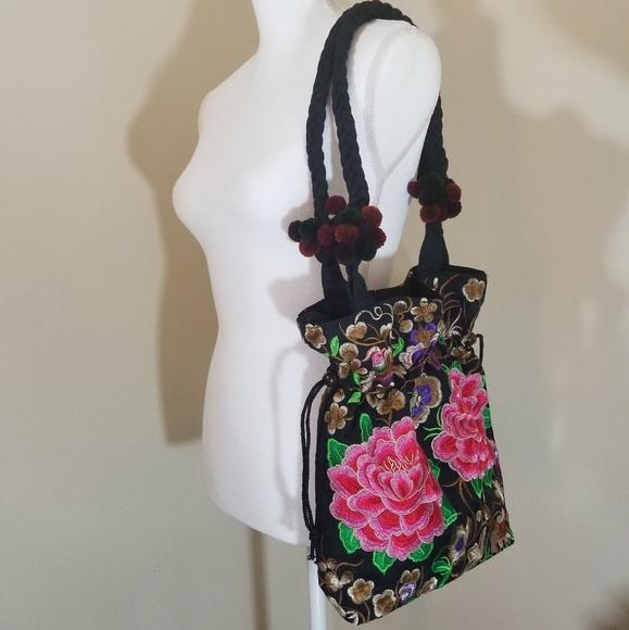 Bags Handembroidered Bag Nwot Poshmark